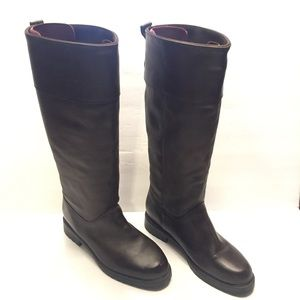 6.5 Orvis Tall Leather Boots made in Canada